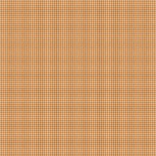 Pumpkin Check Decorator Fabric by Trend