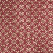 Redbud Geometric Decorator Fabric by Trend