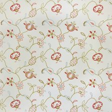Blush Embroidery Decorator Fabric by Trend