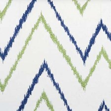 Blue/Green Abstract Decorator Fabric by B. Berger