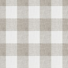 Zinc Check Decorator Fabric by Trend