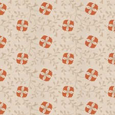 Pumpkin Embroidery Decorator Fabric by Trend