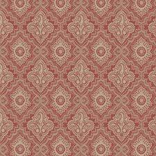 Rouge Paisley Decorator Fabric by Fabricut