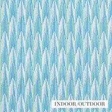 Aqua/amp/Leaf Decorator Fabric by Schumacher