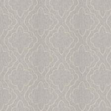 Grey Lattice Decorator Fabric by Fabricut