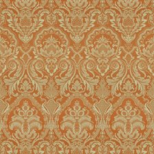 Pumpkin Print Pattern Decorator Fabric by Vervain