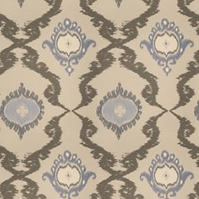 Bluedream Embroidery Decorator Fabric by Stroheim