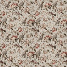 Cordovan Floral Decorator Fabric by Trend