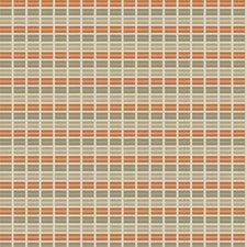 Peach Glow Geometric Decorator Fabric by Fabricut