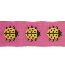 Yellow/amp/Pink Trim by Schumacher