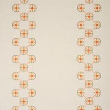Orange/Pink Decorator Fabric by Schumacher