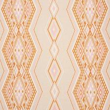 Pink/amp/Orange Decorator Fabric by Schumacher