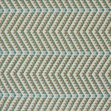 Duck Egg Decorator Fabric by Schumacher