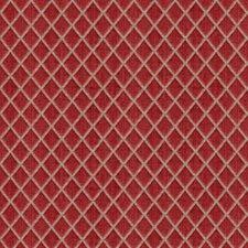 Red Diamond Decorator Fabric by Brunschwig & Fils
