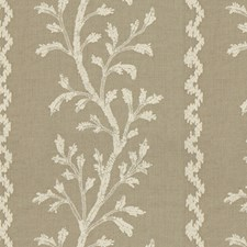 Linen Botanical Decorator Fabric by Brunschwig & Fils