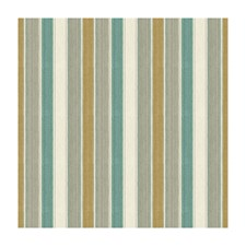 Mist/Aqua Stripes Decorator Fabric by Brunschwig & Fils