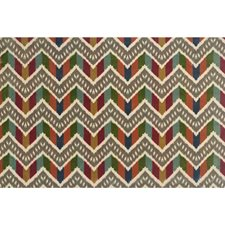 Spring Flamestitch Decorator Fabric by Brunschwig & Fils