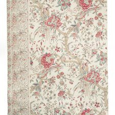 Cranberry Botanical Decorator Fabric by Brunschwig & Fils