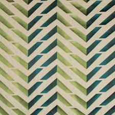 Green/Teal Geometric Decorator Fabric by Brunschwig & Fils