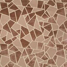 Petal Geometric Decorator Fabric by Brunschwig & Fils