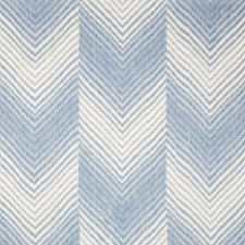 Blue Ikat Decorator Fabric by Brunschwig & Fils