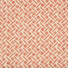 Rose Geometric Decorator Fabric by Brunschwig & Fils