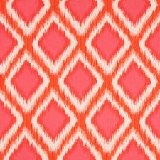 Coral Diamond Decorator Fabric by Brunschwig & Fils