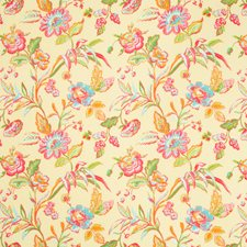 Soleil Botanical Decorator Fabric by Brunschwig & Fils