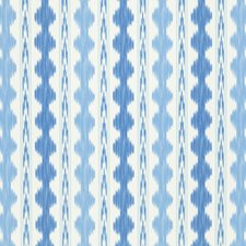 Canton/Sky Ikat Decorator Fabric by Brunschwig & Fils