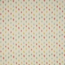 Jade/Pink Ikat Decorator Fabric by Brunschwig & Fils