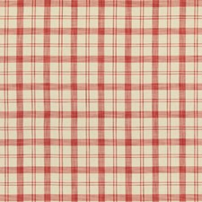 Pink Plaid Decorator Fabric by Brunschwig & Fils