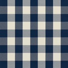Indigo Plaid Decorator Fabric by Brunschwig & Fils