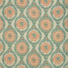 Aqua Ikat Decorator Fabric by Brunschwig & Fils
