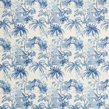 Porcelain Asian Decorator Fabric by Brunschwig & Fils