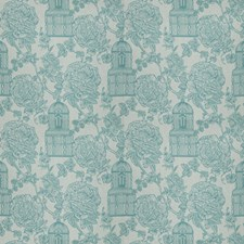 Lagoon Floral Decorator Fabric by Stroheim