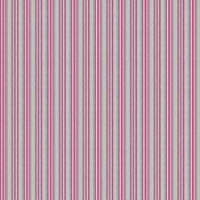 Fuchsia Stripes Decorator Fabric by Stroheim