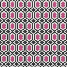 Pink Small Scale Woven Decorator Fabric by Stroheim