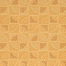 Topaz Geometric Decorator Fabric by S. Harris