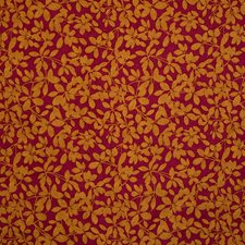 Fuchsia Jacquard Pattern Decorator Fabric by S. Harris