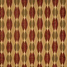 Redwood Geometric Decorator Fabric by S. Harris