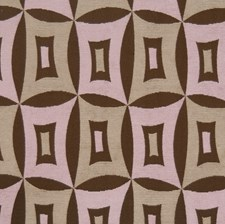 Lavender Grey Geometric Decorator Fabric by S. Harris
