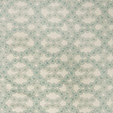 Seaglass Floral Decorator Fabric by S. Harris