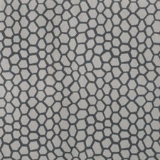 Slate Geometric Decorator Fabric by S. Harris