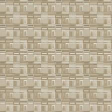 Sand Dune Geometric Decorator Fabric by S. Harris