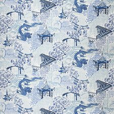 Blue Animal Decorator Fabric by Trend