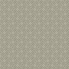 Grey Geometric Decorator Fabric by Trend