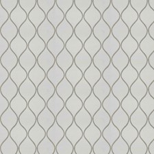 Linen White Embroidery Decorator Fabric by Trend