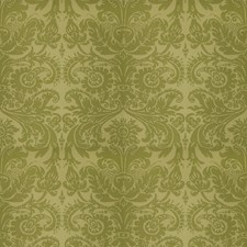 Green Print Pattern Decorator Fabric by Vervain
