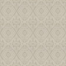 Pearl Grey Embroidery Decorator Fabric by Fabricut