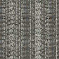 Grey Geometric Decorator Fabric by Trend